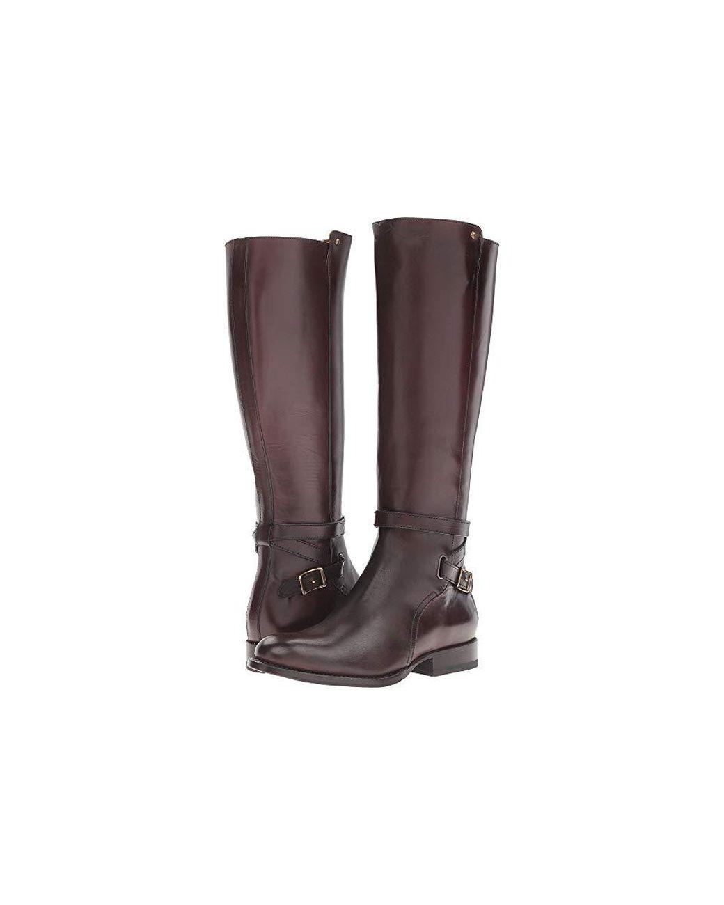 énorme réduction 5015b c9162 Frye Jordan Strap Tall (dark Brown Smooth Veg Calf) Dress ...