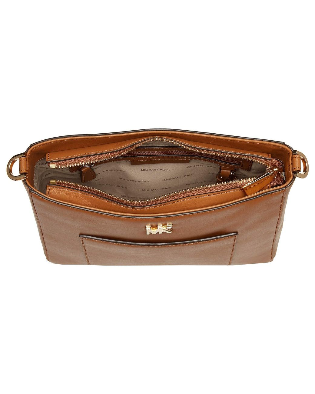 6b77d10e22f9 MICHAEL Michael Kors Gloria Pocket Swing Pack in Brown - Save 5% - Lyst