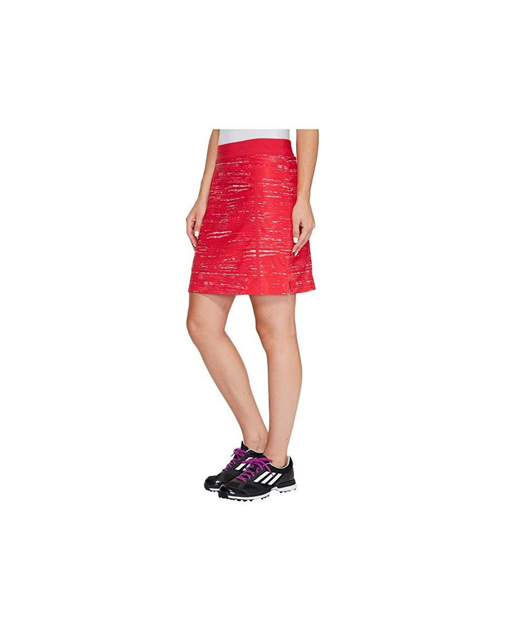 861920bf5c7 adidas Originals Ultimate Adistar Printed Skorts (streak Pink/energy Pink)  Skort in Red - Lyst