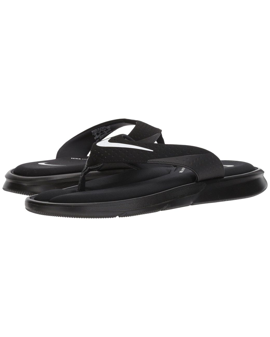 646b22c46 Lyst - Nike Ultra Comfort Thong in Black for Men - Save 41%