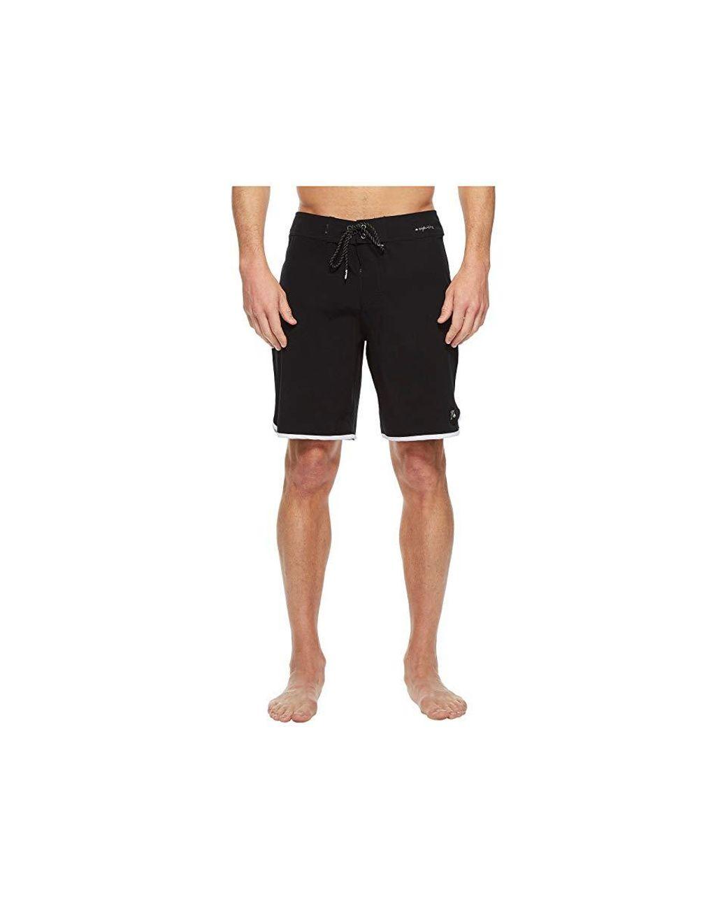 ad2eb32b6c Quiksilver Highline Scallop 19 Boardshorts (black) Swimwear in Black for  Men - Save 31% - Lyst