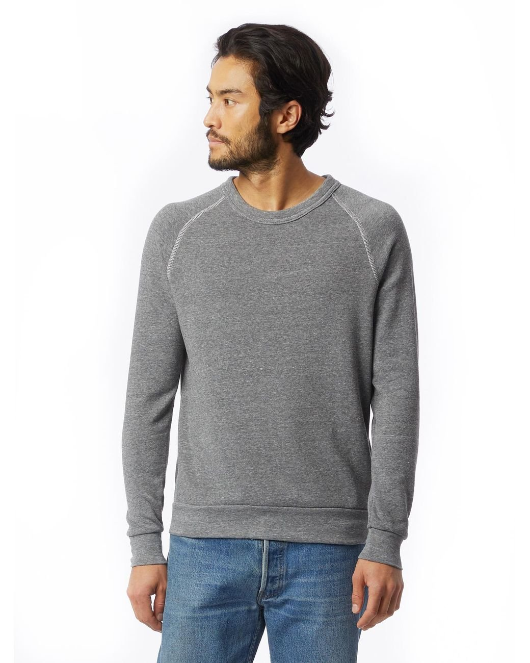 6929ae282dd5 Lyst - Alternative Apparel Champ Eco-fleece Sweatshirt in Gray for Men