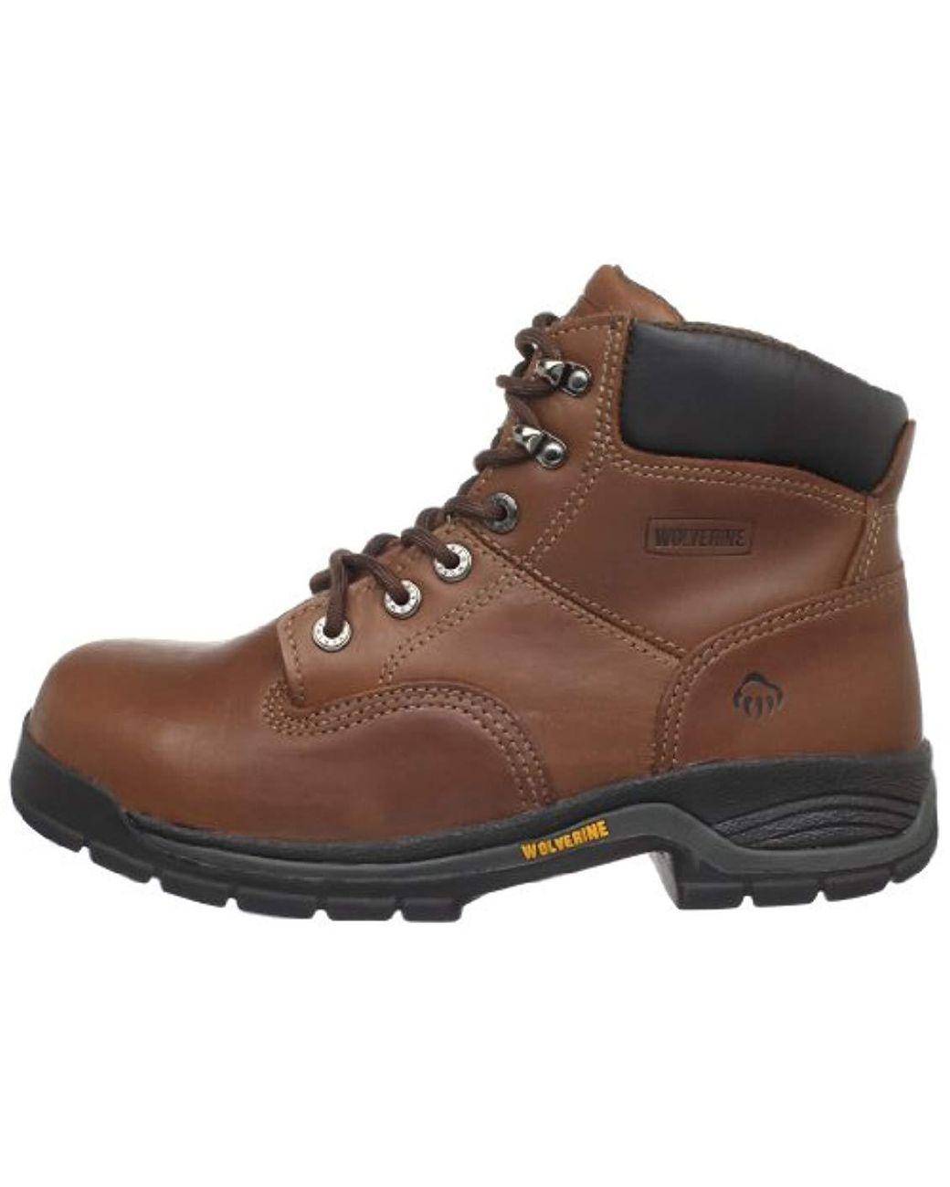 b70eba2f293 Wolverine Harrison W04904 Work Boot,brown Leather,9 Ew Us in Brown ...