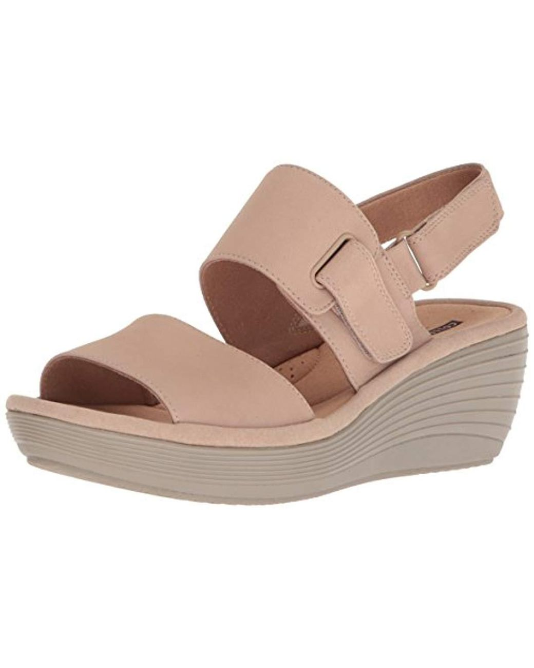 293b6da8c78f Lyst - Clarks Reedly Breen Wedge Sandal - Save 35%
