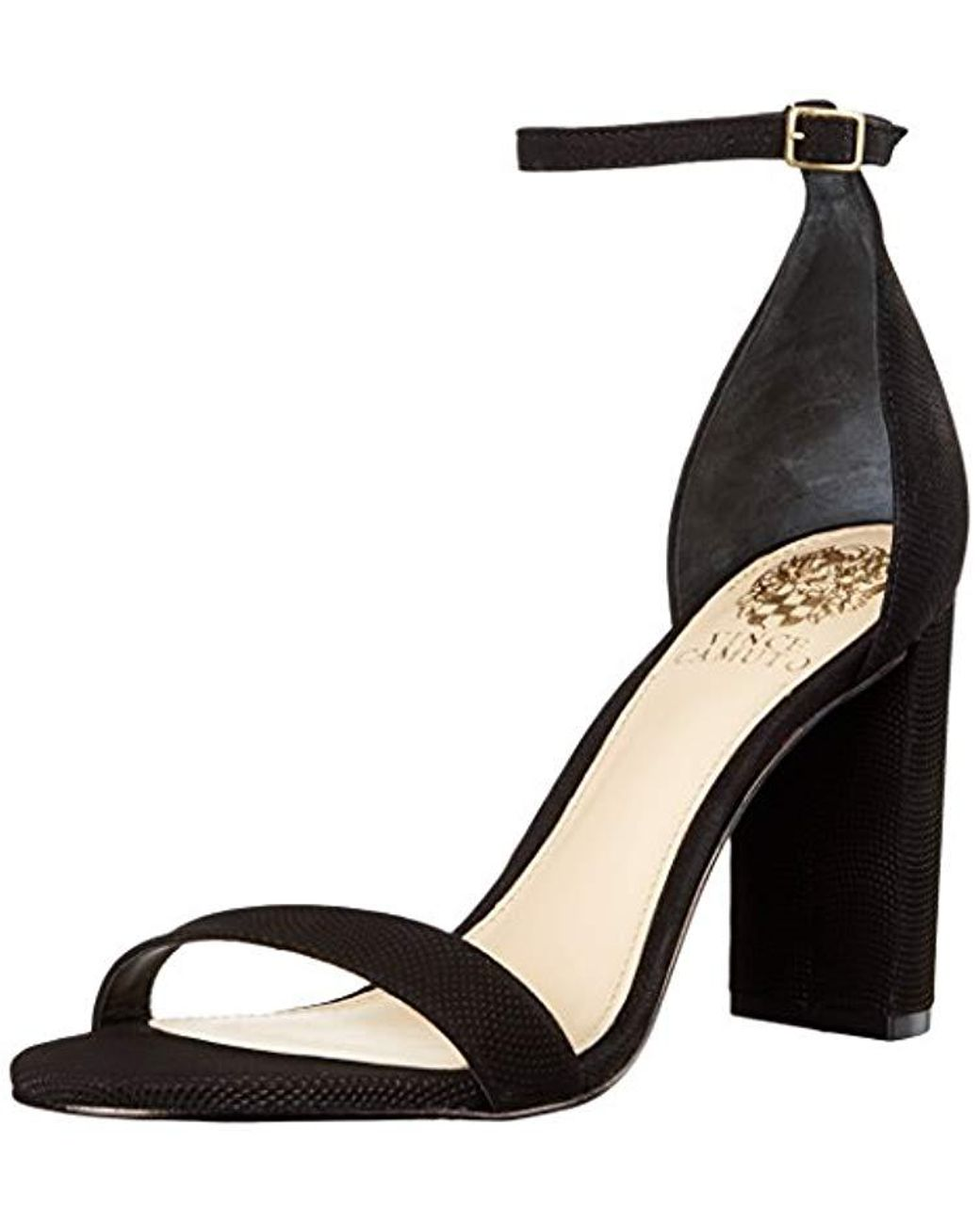5f7aa374a69 Lyst - Vince Camuto Mairana Dress Sandal in Black - Save 34%