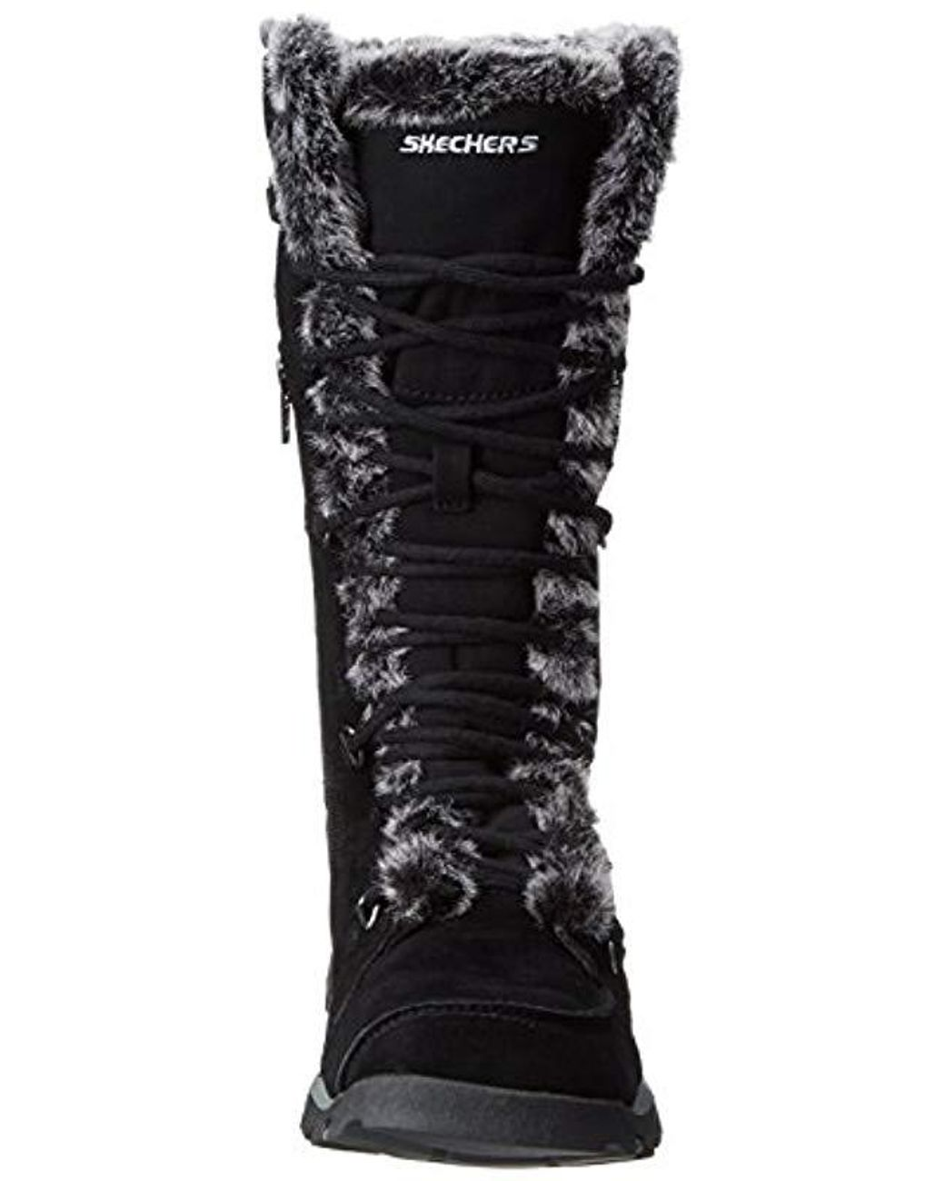 455a4a67b64a5 Skechers Grand Jams Unlimited Boot in Black - Lyst