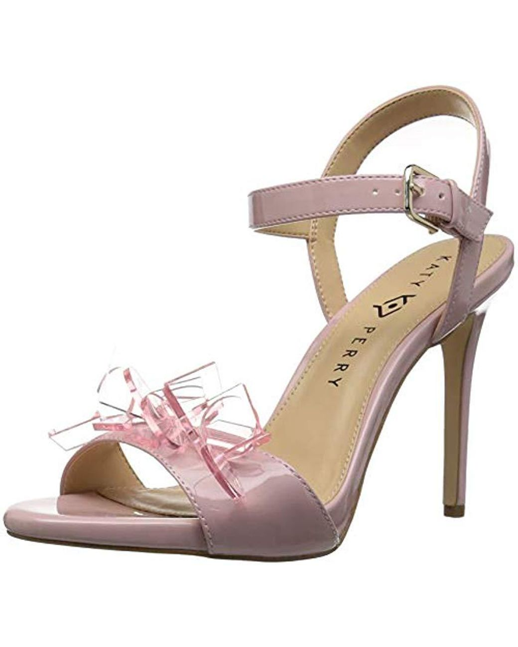 1b5d201cdde Lyst - Katy Perry The Kelsi Heeled Sandal Rose 5 M Medium Us in Pink