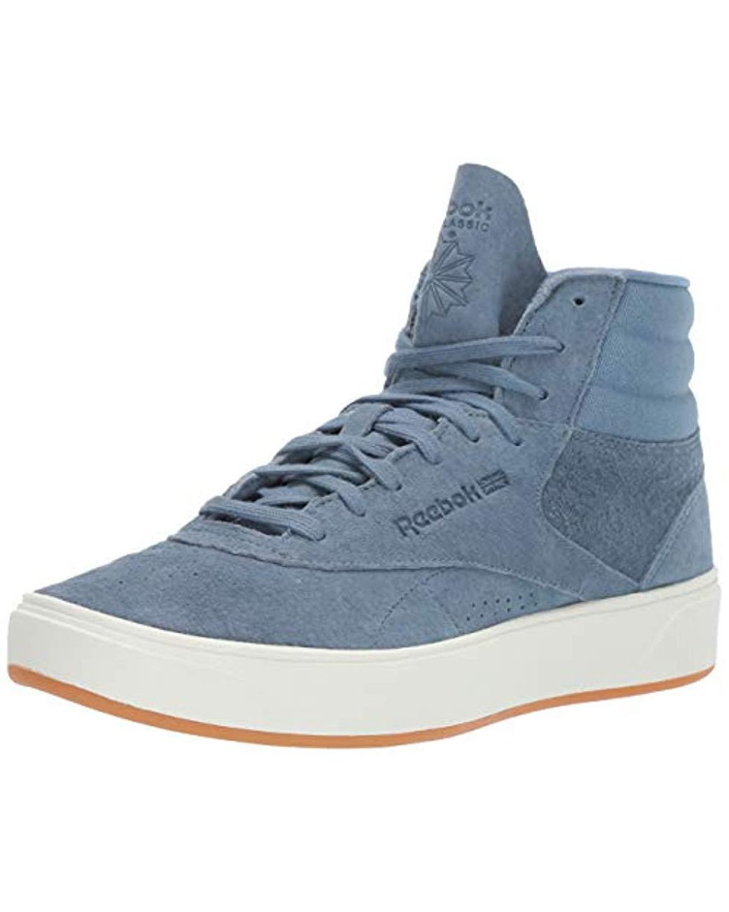 a3b9ae4c7 Reebok Freestyle Hi Nova Sneaker in Blue - Save 2% - Lyst