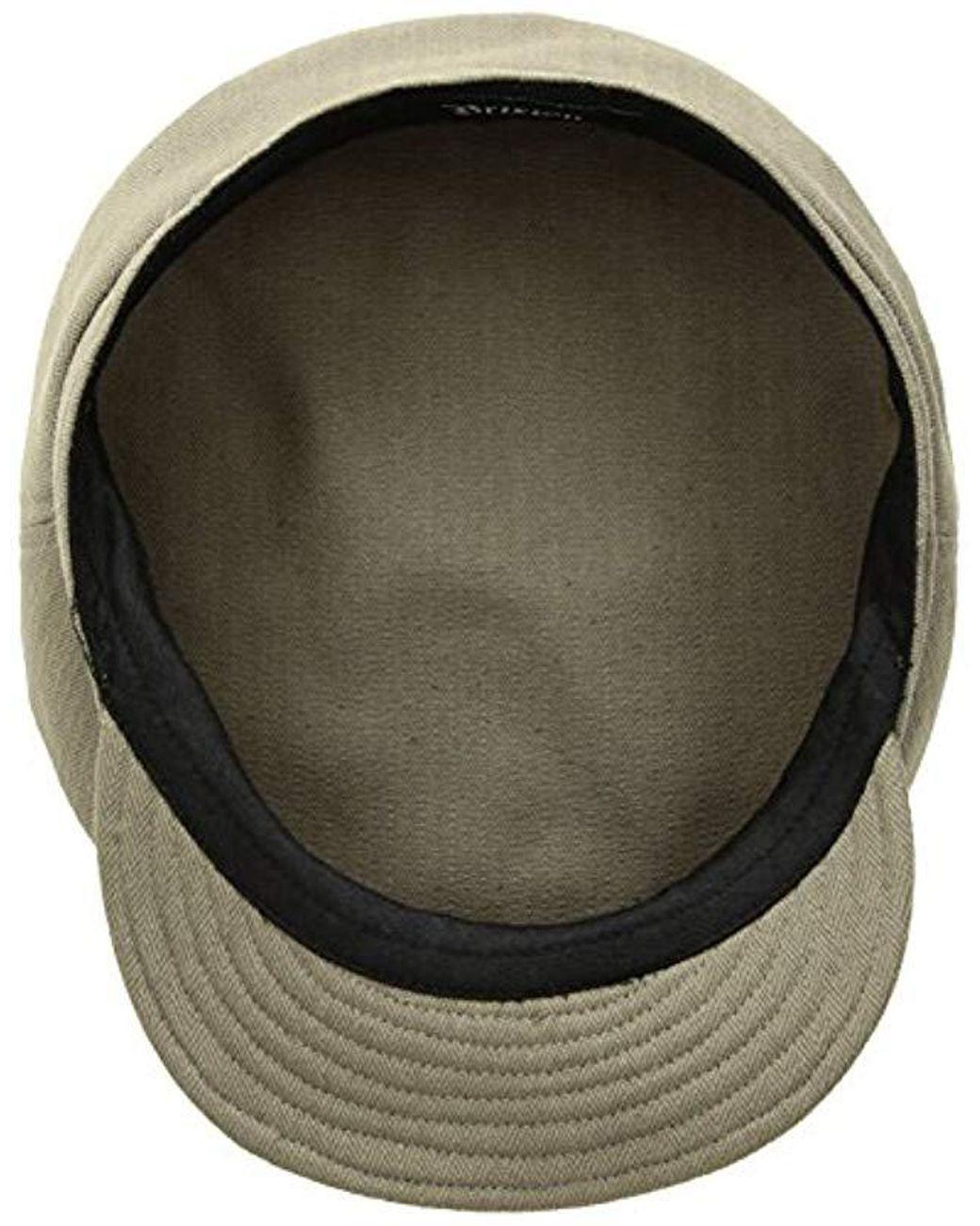 8cf873b4 Brixton Fiddler Unstructured Greek Fisherman Hat in Green for Men - Save  13% - Lyst