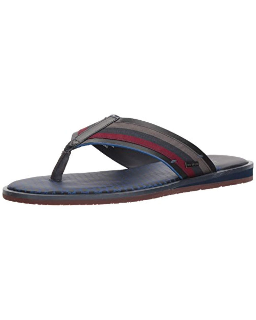 6230fa96c49f Lyst - Ted Baker Knowlun Flip-flop in Blue for Men - Save 19%