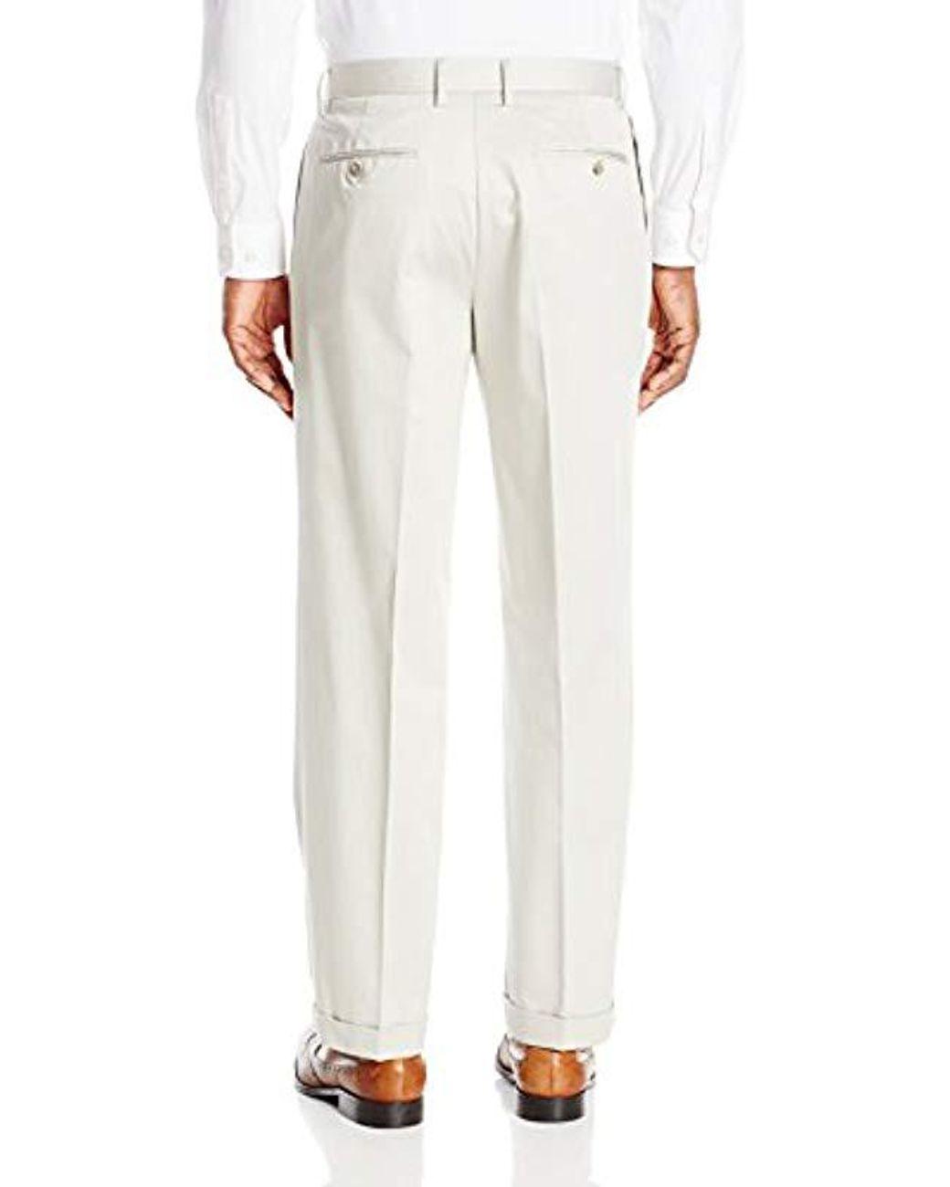 cbd815ef4327f Dockers Insignia Wrinkle-free Khaki Classic-fit Pleat Pant in ...