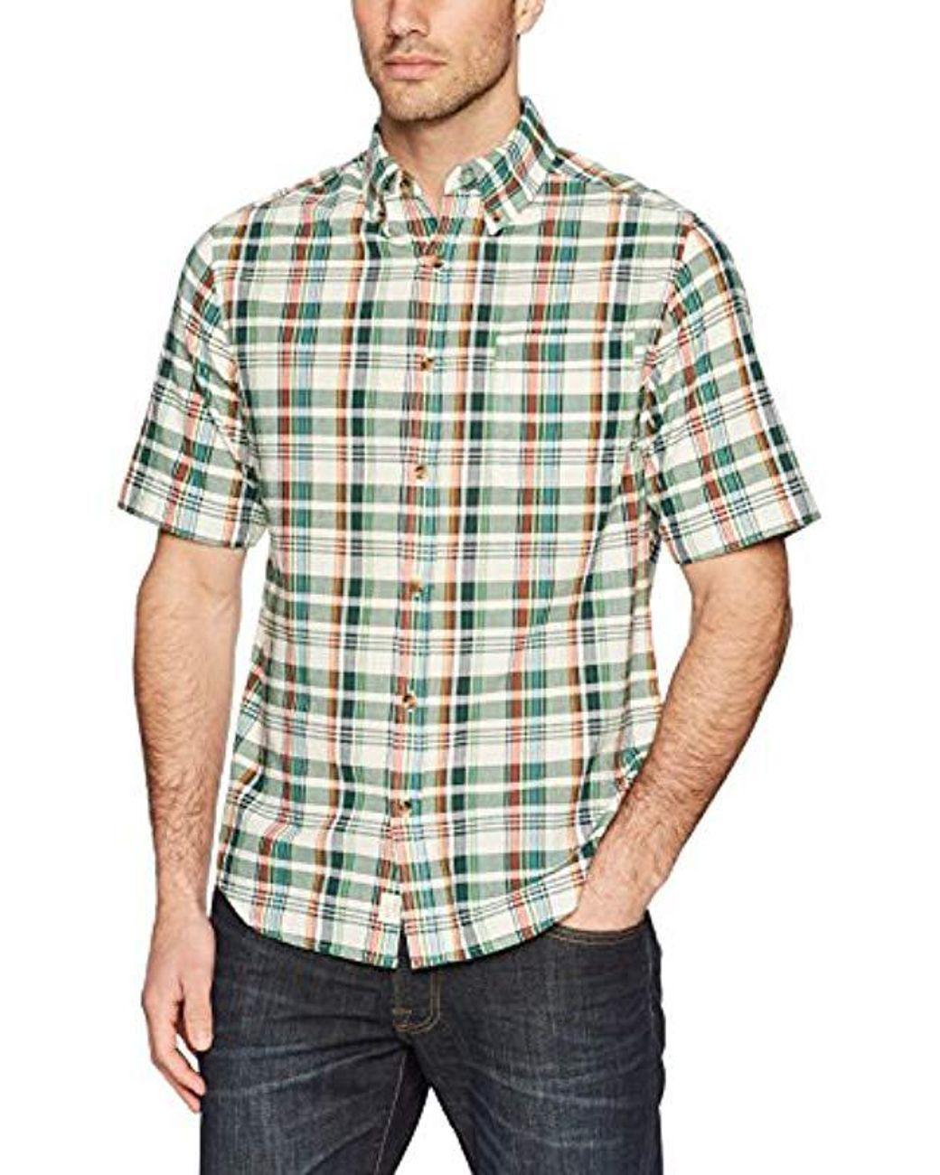 6d69c63a559d38 Lyst - Woolrich Timberline Short Sleeve Shirt in Green for Men ...