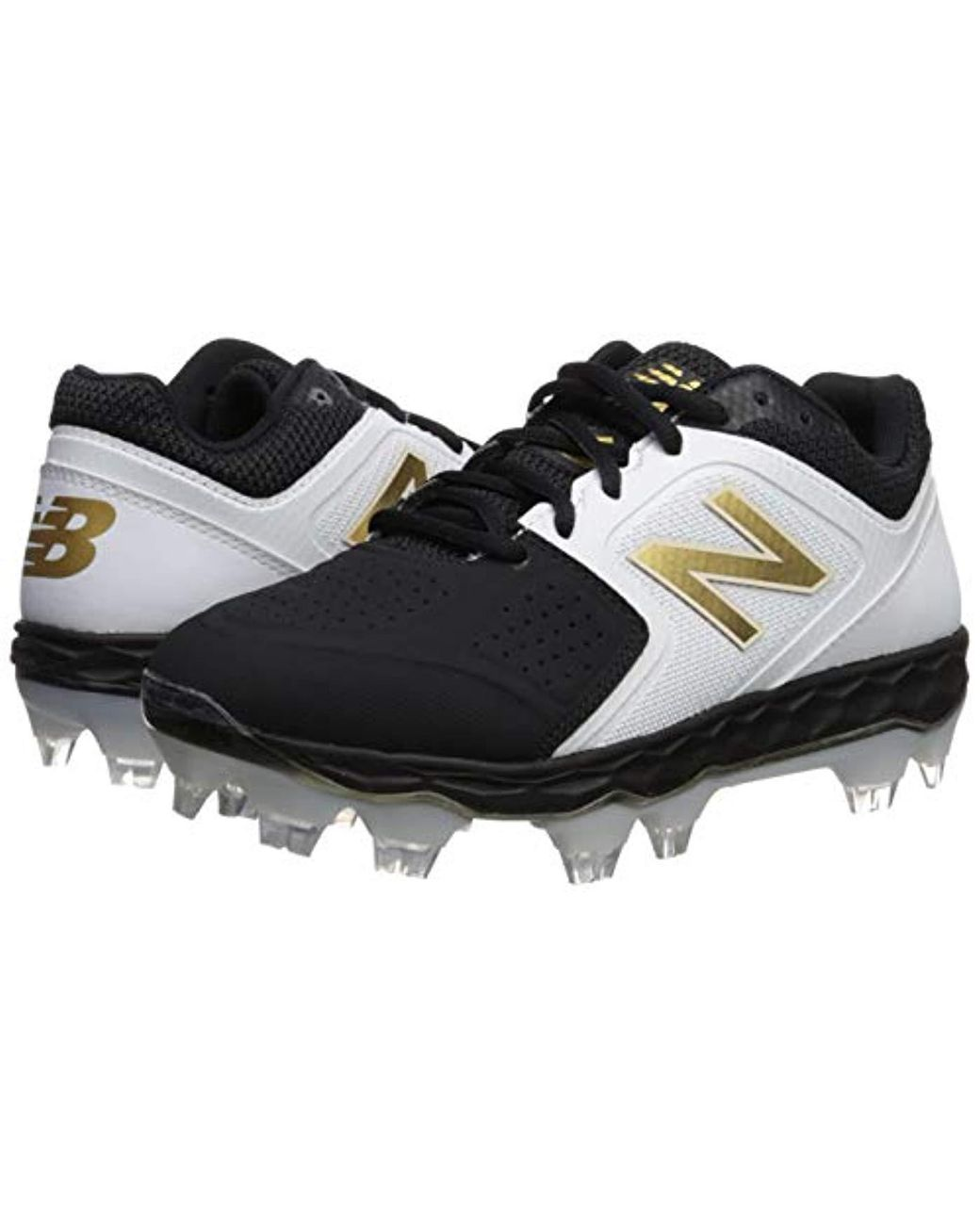 1dfbe2dab New Balance Fresh Foam Spvelov1 (white gold) Women s Cleated Shoes in Black  - Save 14% - Lyst