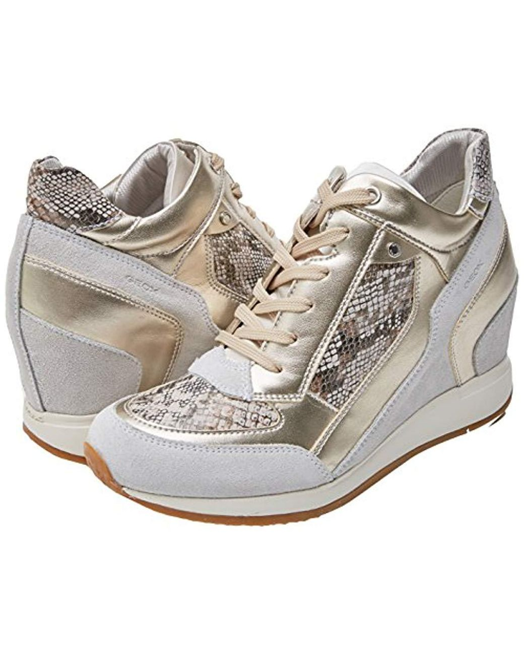 177f37d54b Geox Nydame 6 Sneaker in White - Save 2% - Lyst