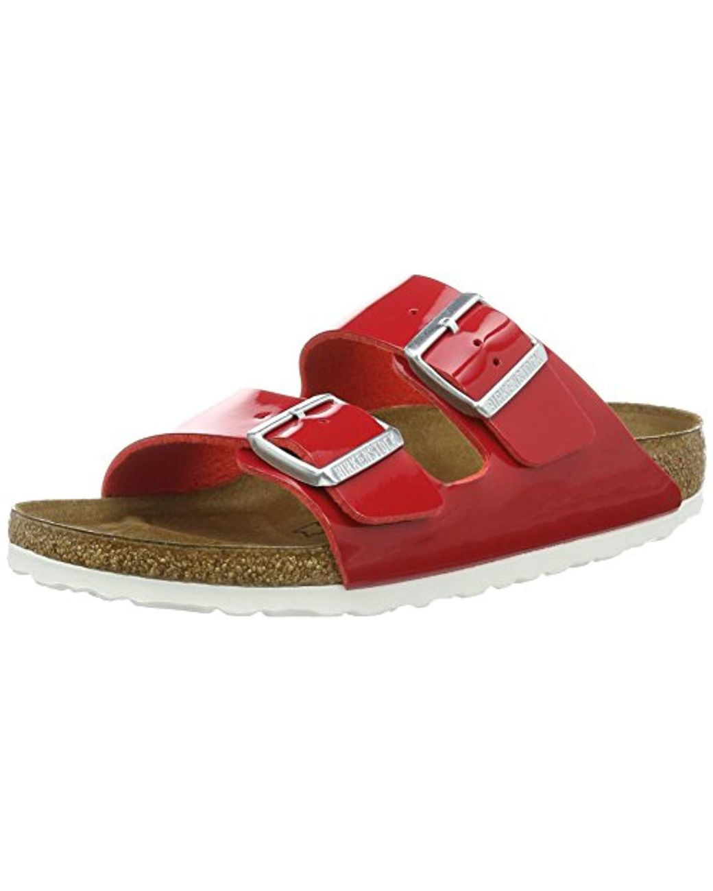 In Arizona Lyst Unisex Adults' Sandals Red Birkenstock Ygmi76vybf m0vy8nOPNw