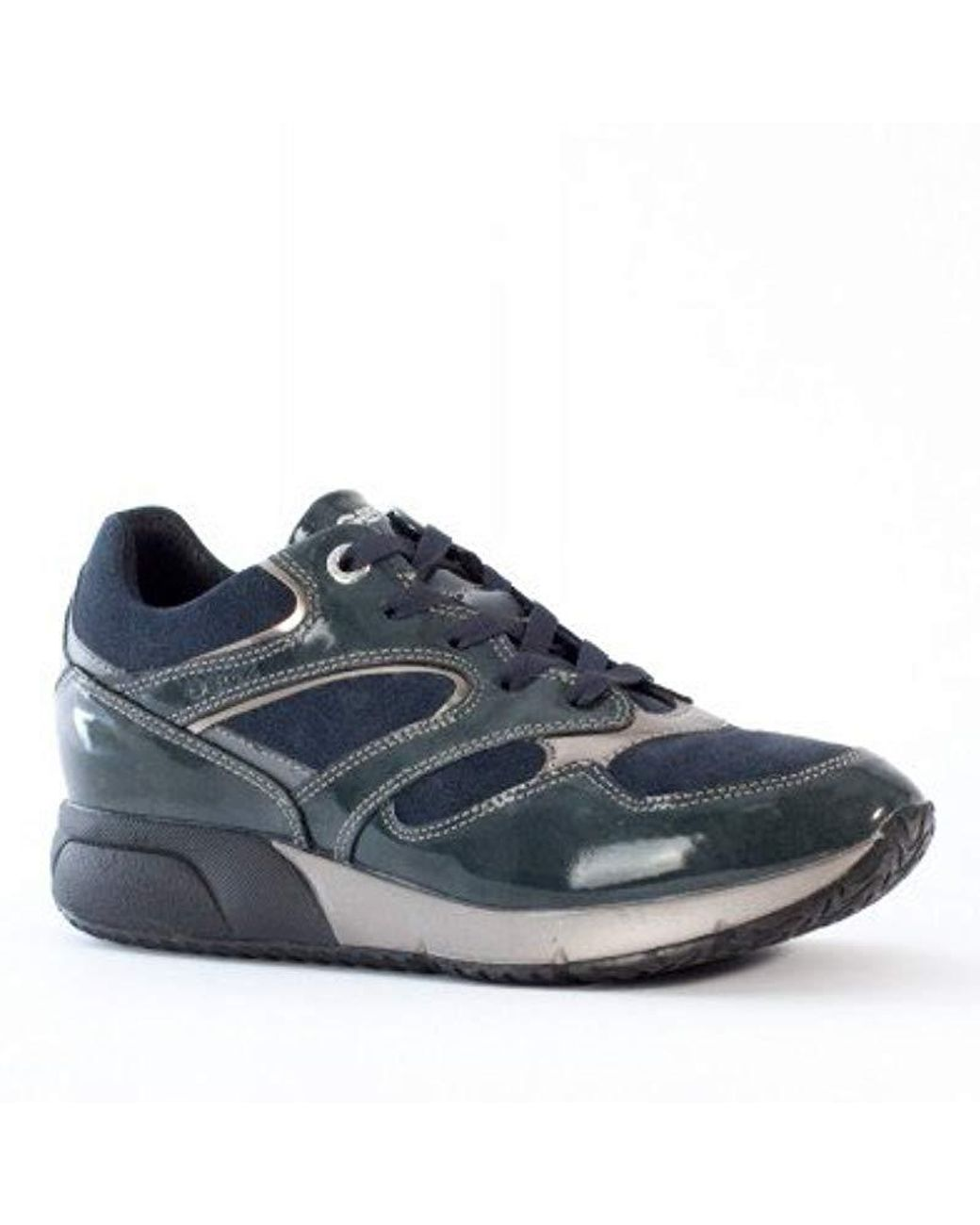 Geox Agyleah Trainers Women Black Shoes Low top High tech