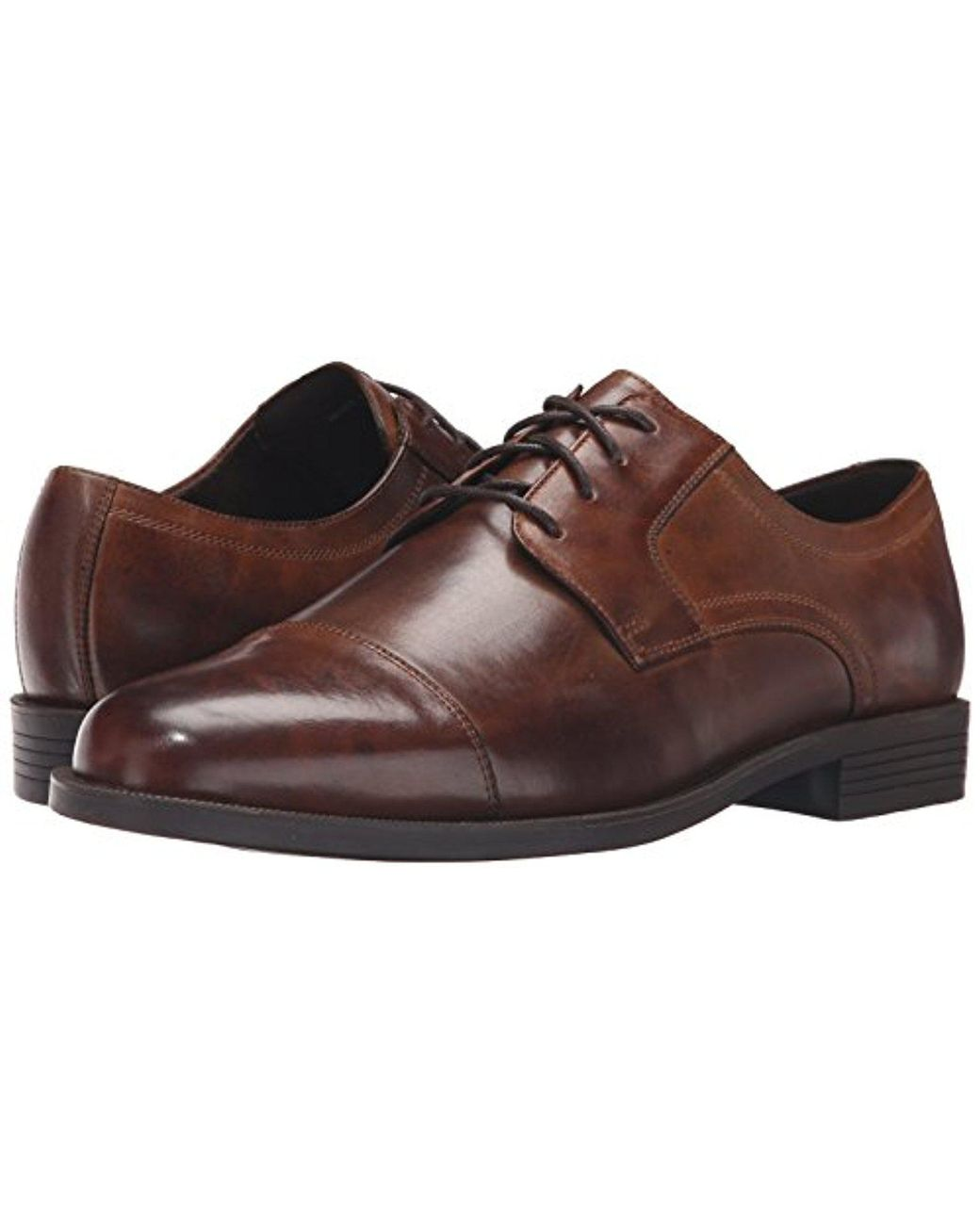 878edec95bc Cole Haan Dustin Cap Ox Ii Oxford in Brown for Men - Save 14% - Lyst