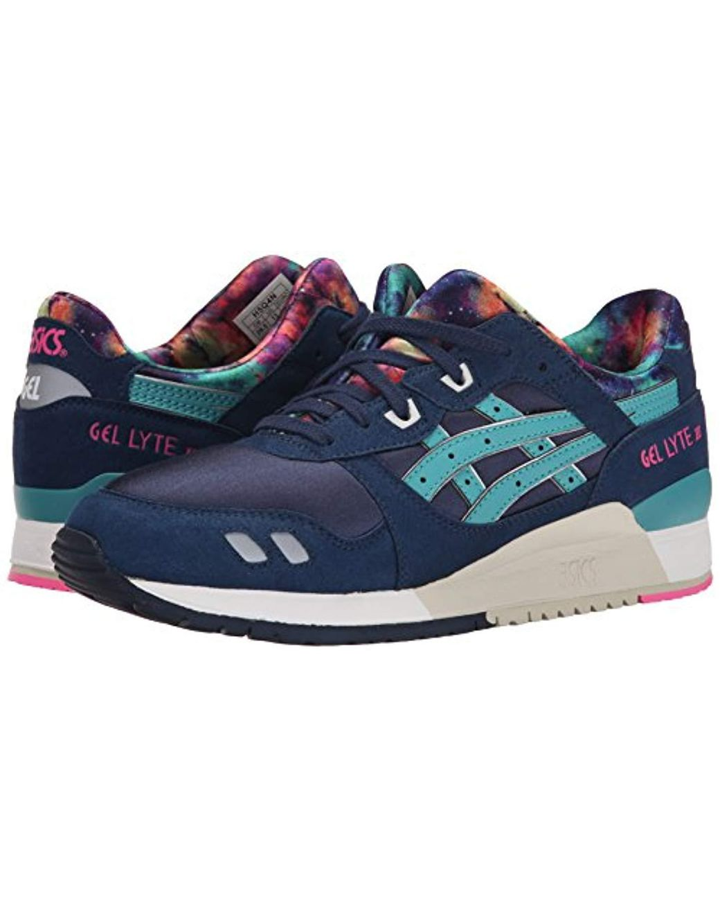 5189a832 Asics Gel-lyte Iii Retro Sneaker in Blue for Men - Lyst