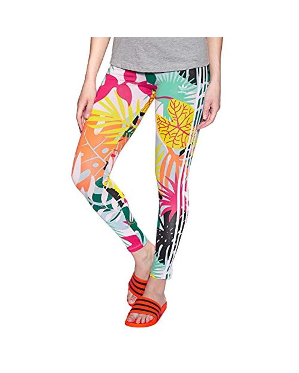 346ee2b36b Lyst - adidas Originals 3-stripes Leggings