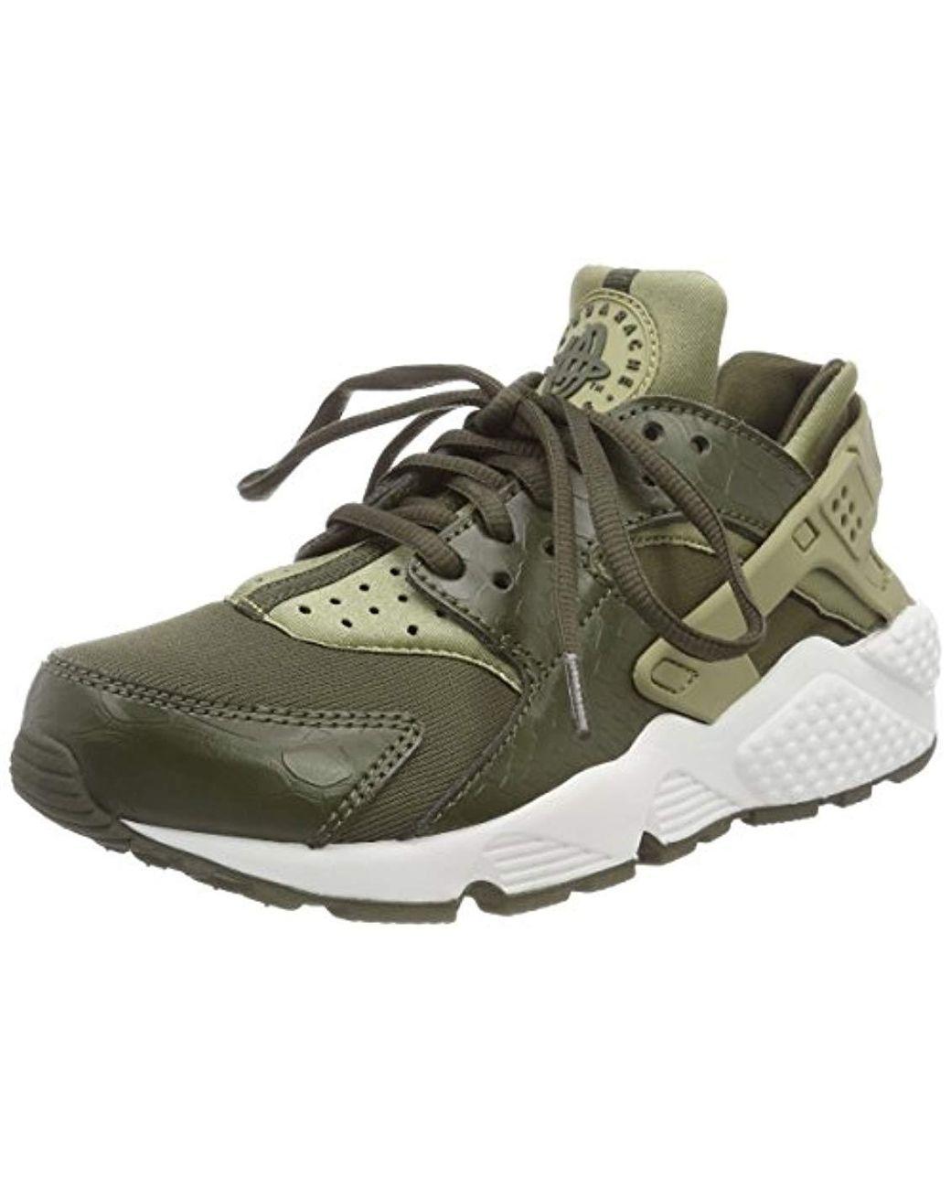 6fb189c0f14e Nike  s Air Huarache Run Shoes in Green - Lyst