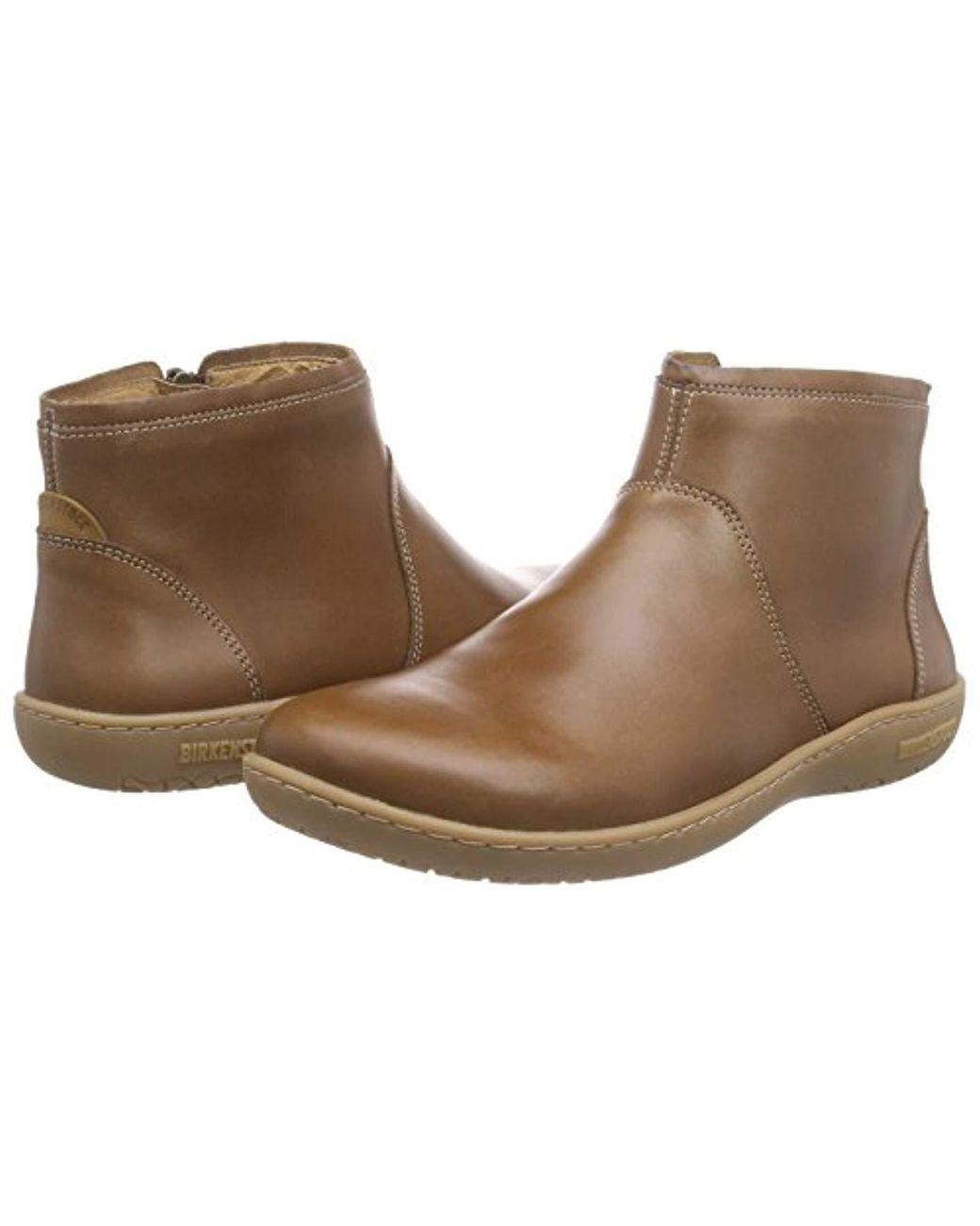 Birkenstock Bennington Damen Ankle Boots in Brown Lyst