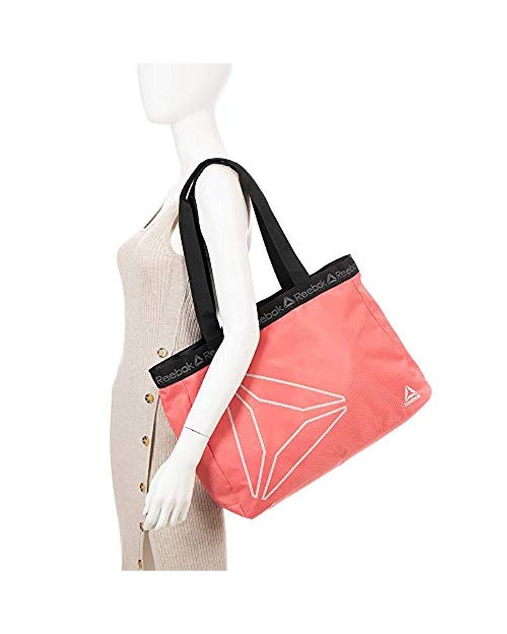 c09de8f98a77 Reebok Tote Bag, Studio Series Bijou Tote Bag (rose) - Lyst