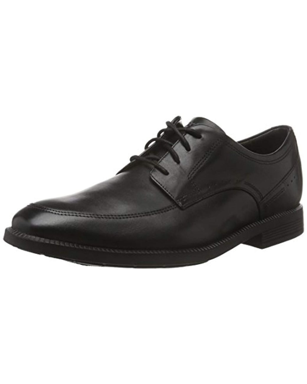06868211418 Rockport 's Dressports Modern Apron Toe Oxfords in Black for Men - Lyst