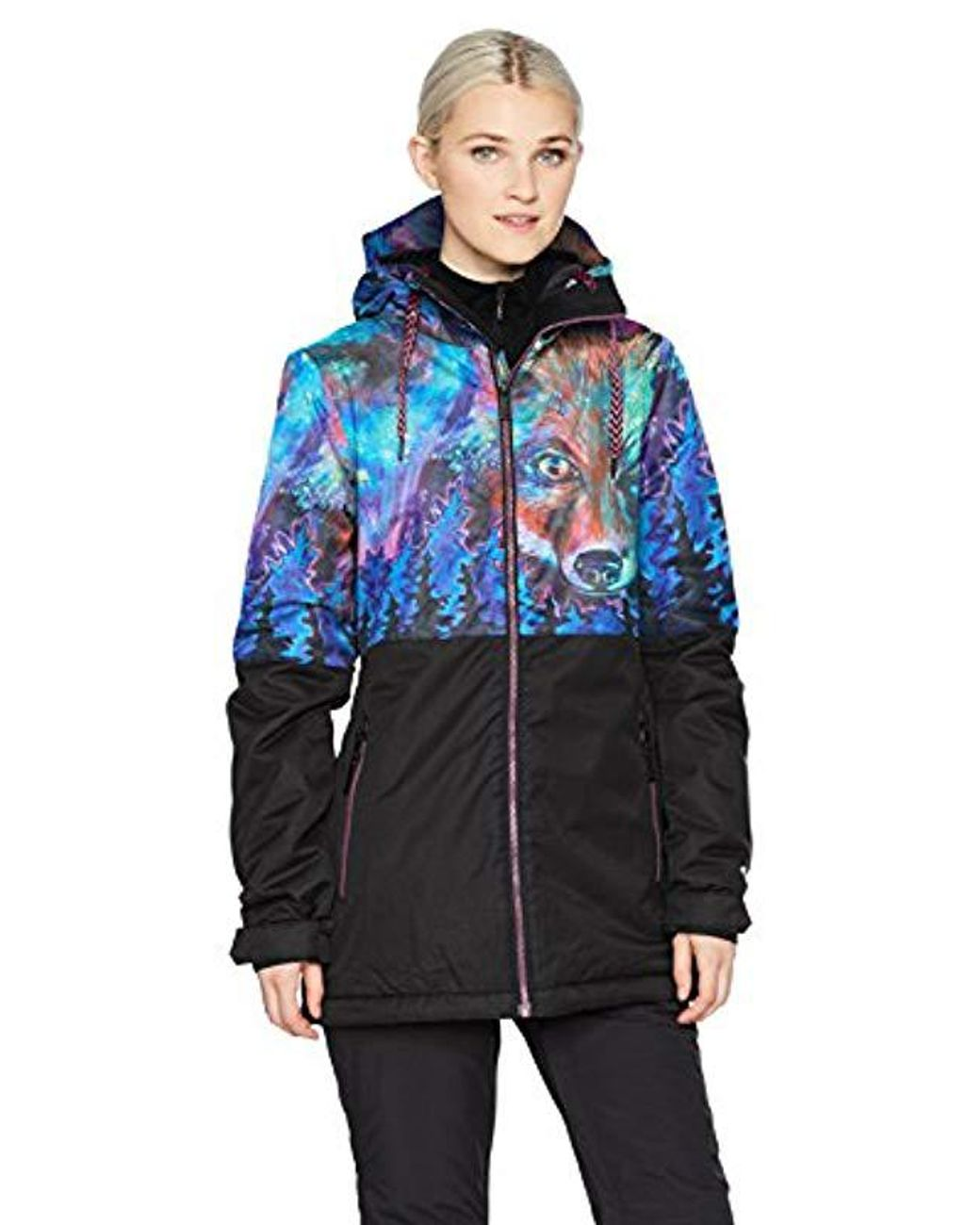 af4a600f Volcom Act Insulated 2 Layer Shell Snow Jacket in Black - Save 30% - Lyst