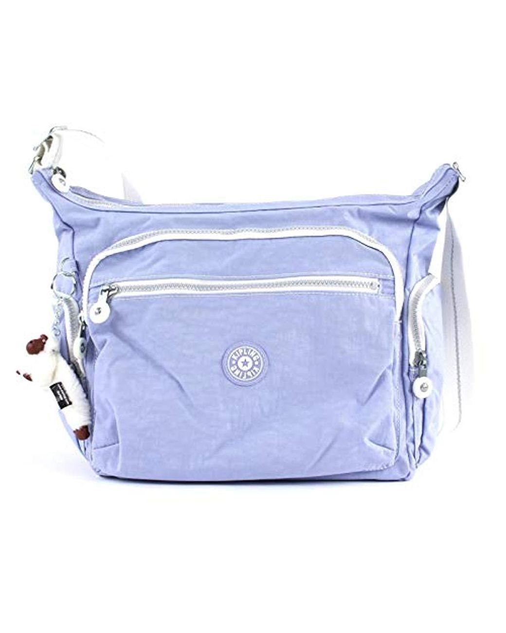 e1dfdb2532 Kipling Gabbie Shoulder Bag in Purple - Lyst