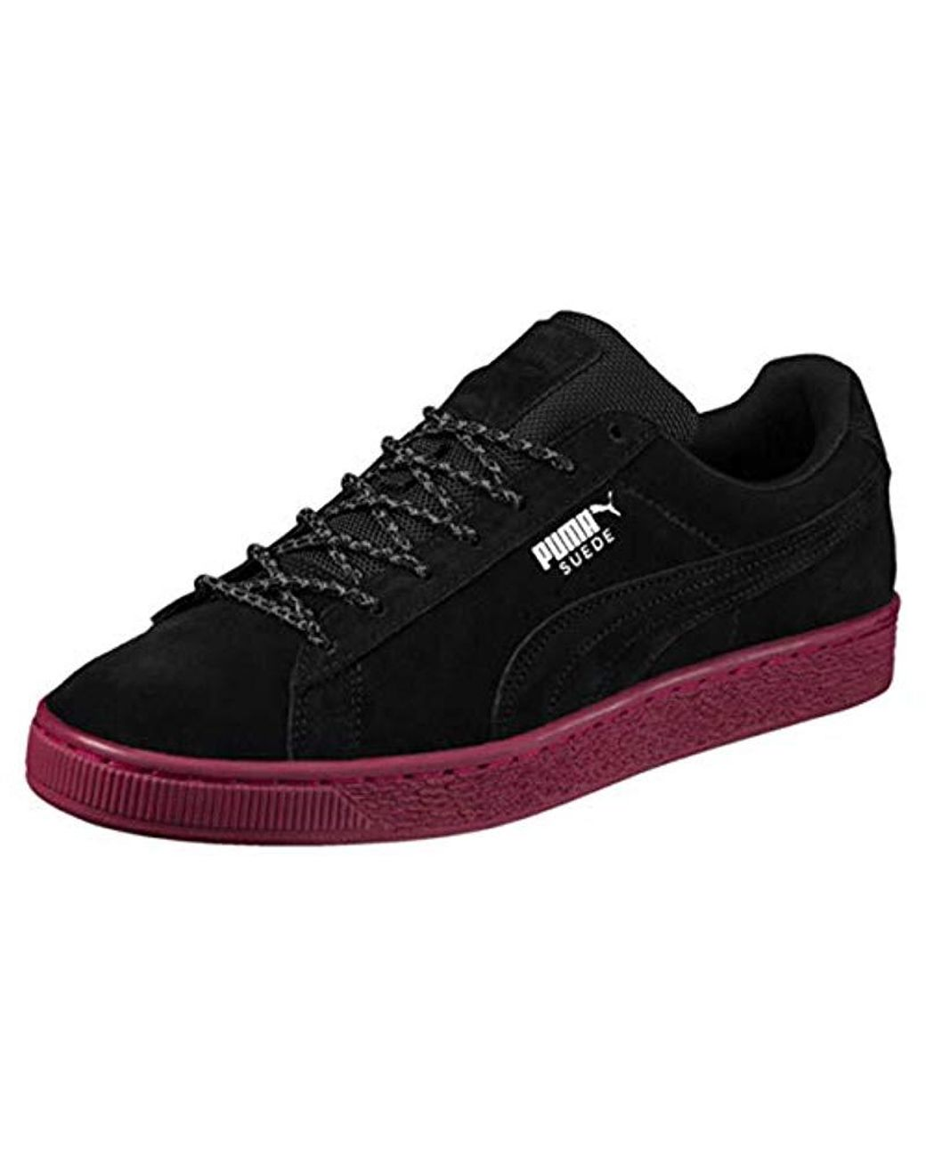 reputable site 02c0c 521c2 Long-Touch to Zoom. Long-Touch to Zoom. 1  2  3. PUMA - Black Unisex Adults   Suede Classic Weatherproof Trainers ...