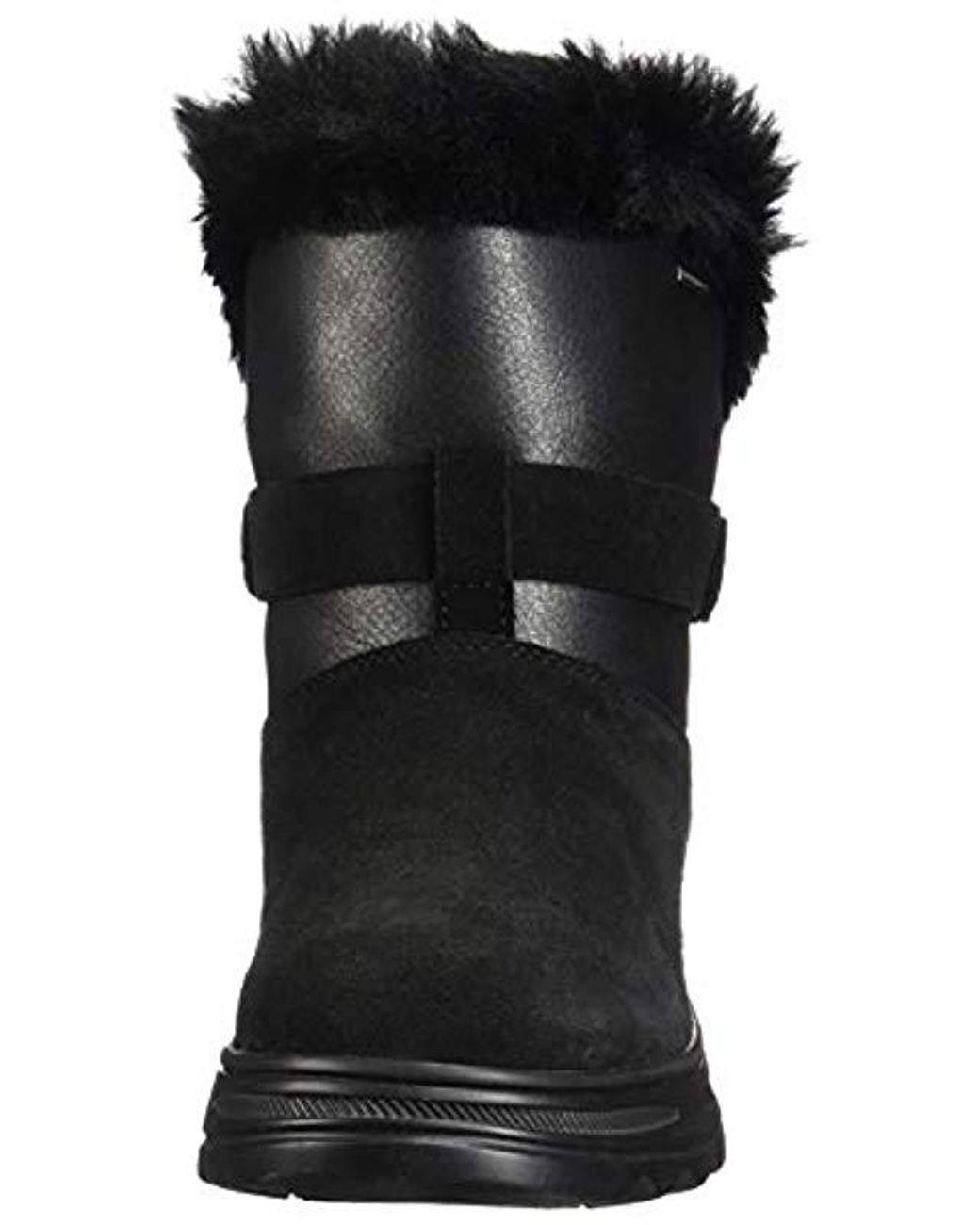 b7fdb08c5c0 Geox D Hosmos B Abx C Snow Boots in Black - Lyst