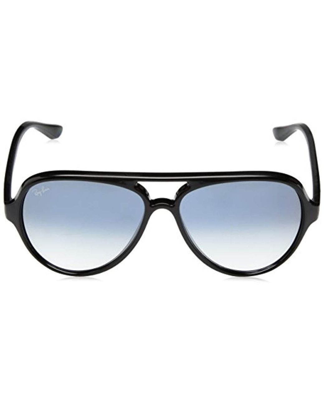 d8003897b5924 Ray-Ban Cats 5000 Aviator Sunglasses In Black Blue Gradient Rb4125 601 3f  59 in Black for Men - Lyst