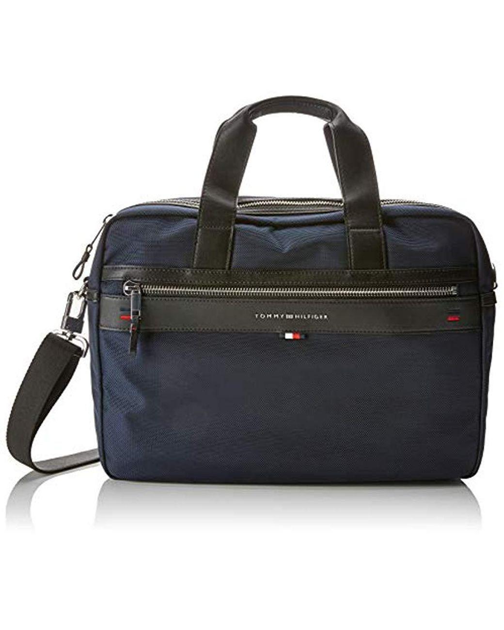 697314dd927 Tommy Hilfiger Elevated Computer Bag Briefcases Men Blue Briefcases in Blue  for Men - Save 11% - Lyst