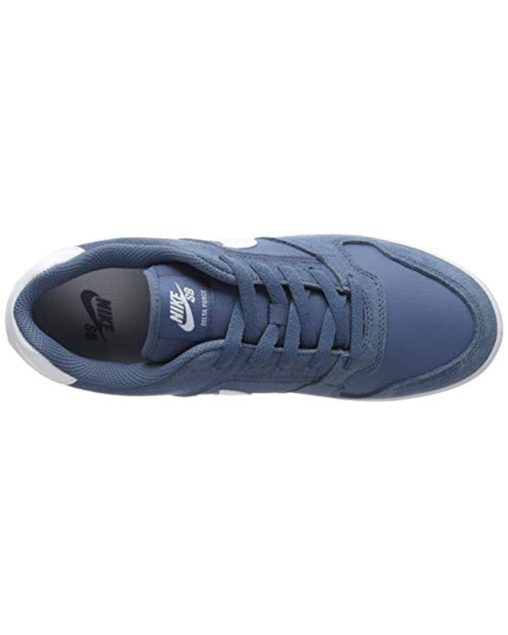 buy online 00400 409d9 Nike Sb Delta Force Vulc Skateboarding Shoes in Blue for Men - Lyst