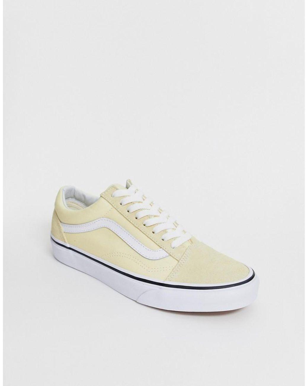 1b2bd5c46e Vans Van Old Skool Vanilla Sneakers in White - Lyst