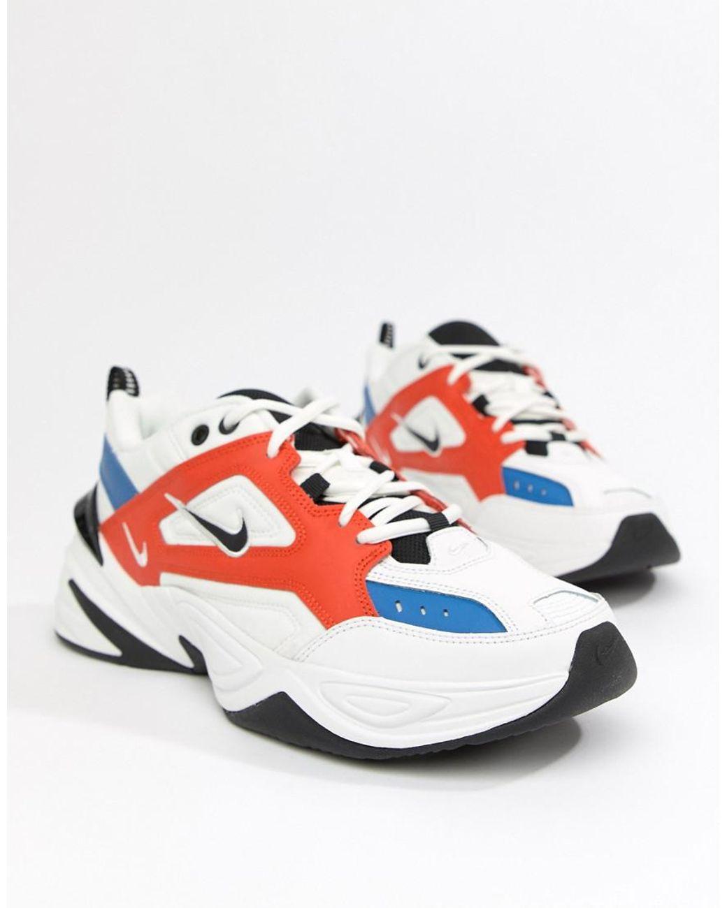 promo code ec7f4 2fddf Nike M2k Tekno Trainers In White Av4789-100 in White for Men - Lyst
