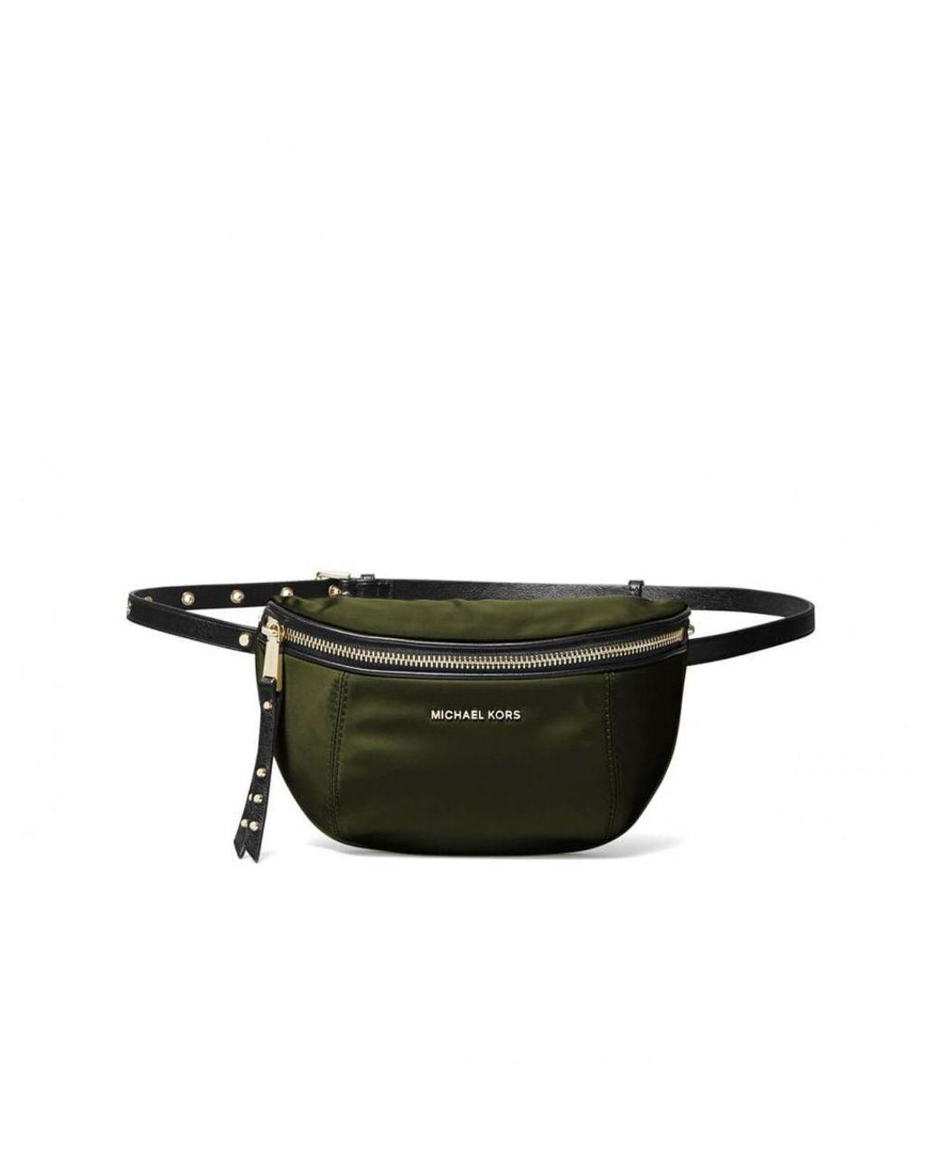 ee1a8f24a99c MICHAEL Michael Kors. Women's Michael Kors Leila Olive Green Belt Bag
