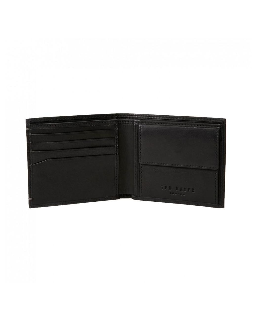 0676a5f0c Long-Touch to Zoom. Long-Touch to Zoom. 1  2  3. Ted Baker - Black Harvys  Wallet for Men ...