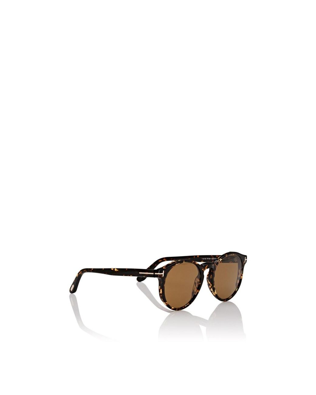 5a4e3d2541dc Tom Ford Ian Sunglasses in Brown for Men - Lyst