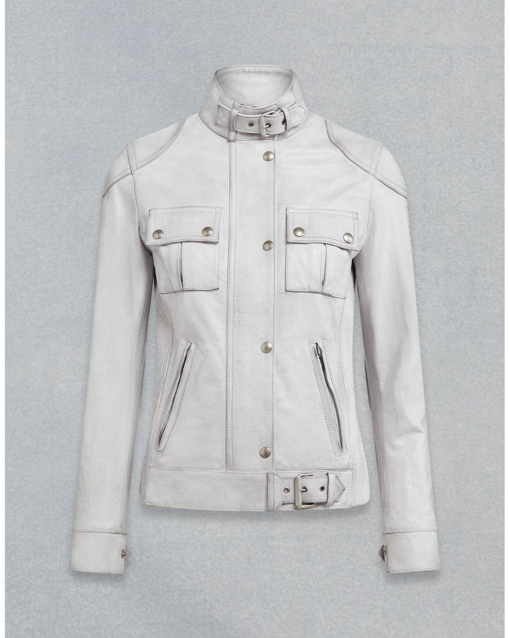 8fe88b97adc7 Belstaff Gangster Leather Jacket - Lyst