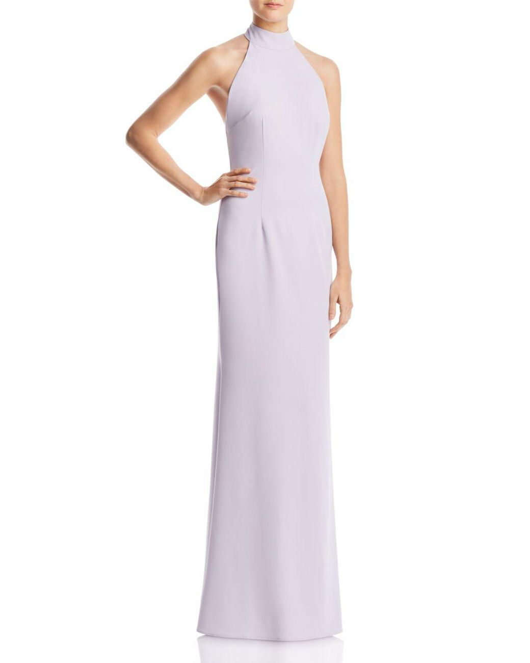 80d1002575bc Jarlo Tenny Halter Gown in Purple - Lyst