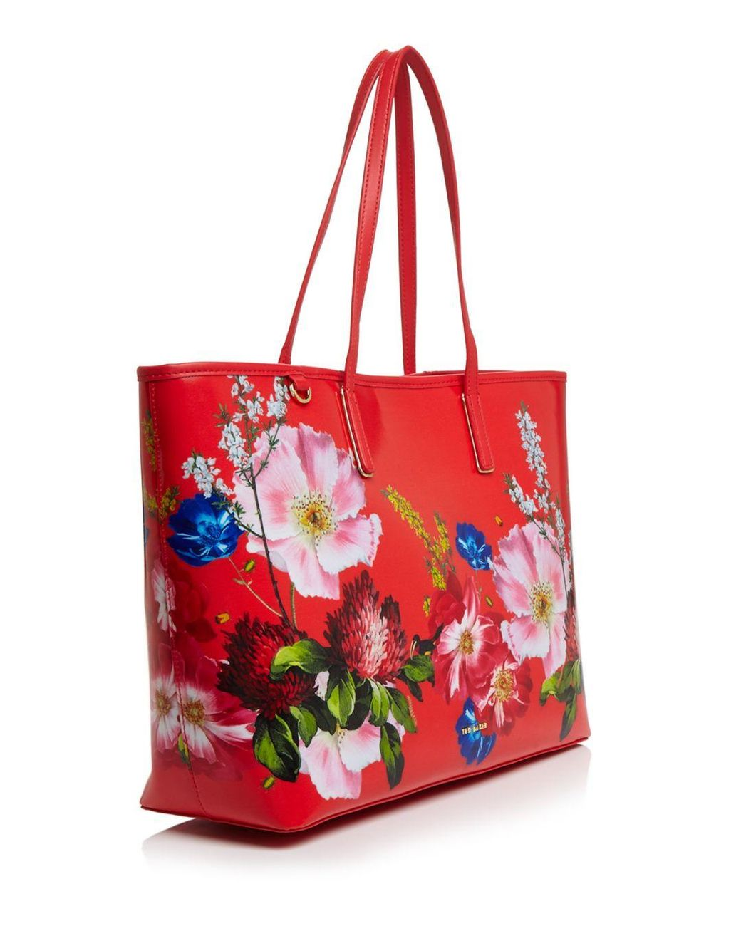 c87c967a58 Ted Baker Jenii Berry Sundae Large Shopper Tote in Red - Lyst