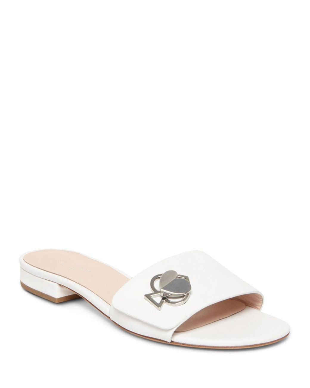 Kate Sandals Women's Ferry Slide Lyst White In Spade E29DYWIH
