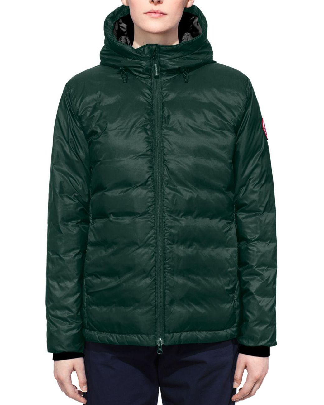 1ed52c4ad Canada Goose Camp Fusion Fit Packable Down Jacket, (2-4p) in Green ...