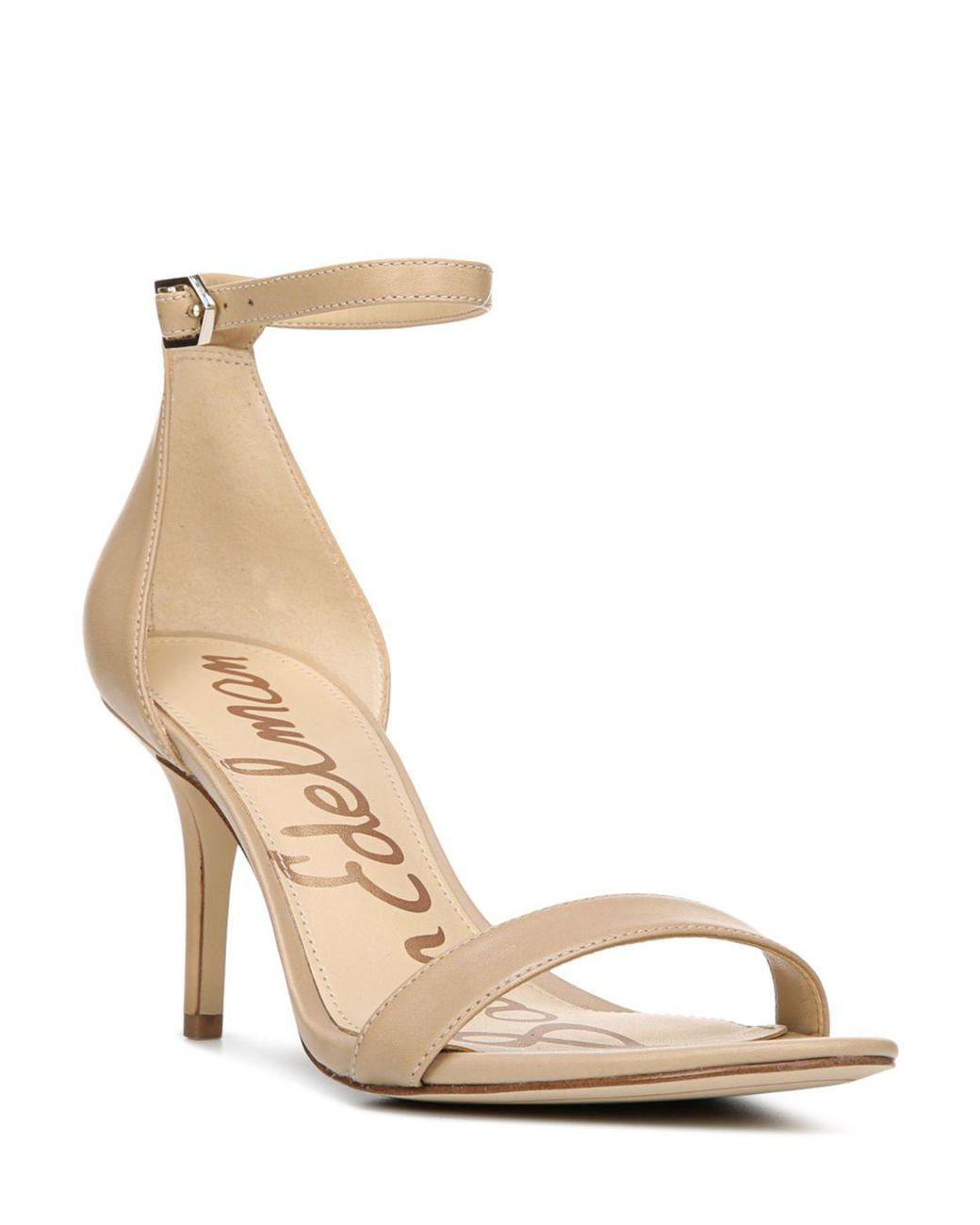 2d1547873 Sam Edelman. Natural Women s Patti Open Toe Leather High-heel Sandals