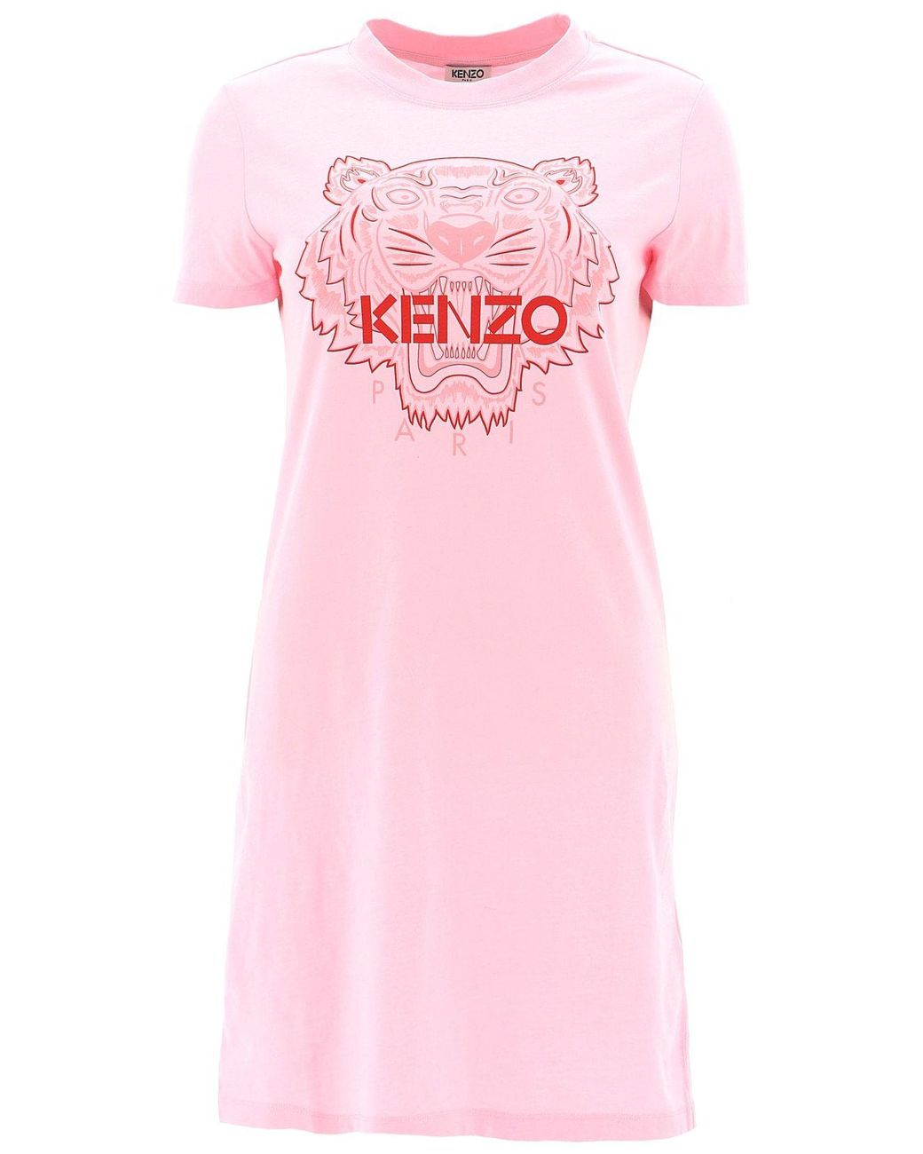 420b510ef5 Long-Touch to Zoom. KENZO - Pink Printed Tiger Dress ...