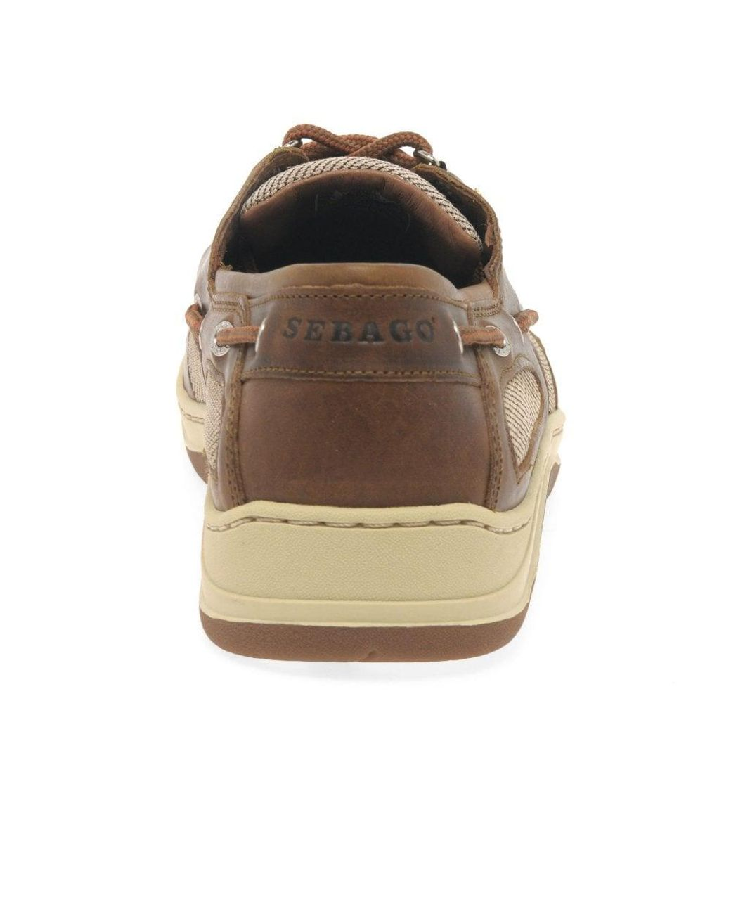 73edf707cd72a Sebago Clovehitch Ii Fgl Wax Mens Boat Shoes in Brown for Men - Save ...