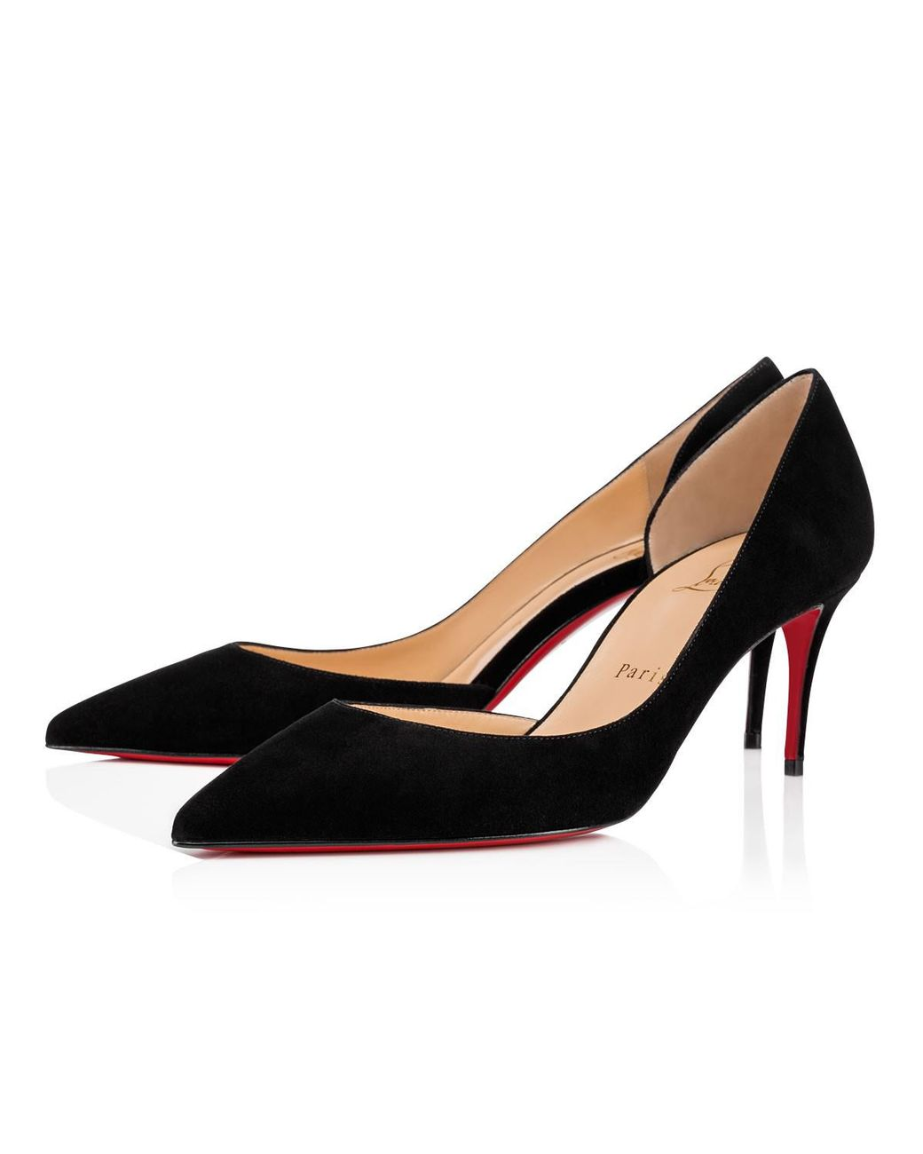 a15167a2bf64 Long-Touch to Zoom. Christian Louboutin - Black Iriza - Lyst