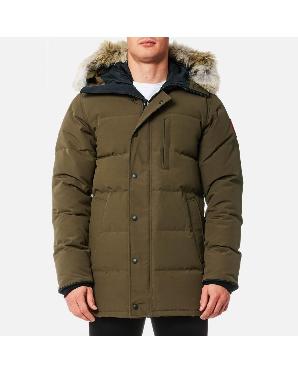 600b5b348a9d Canada Goose Carson Parka Jacket in Green for Men - Lyst
