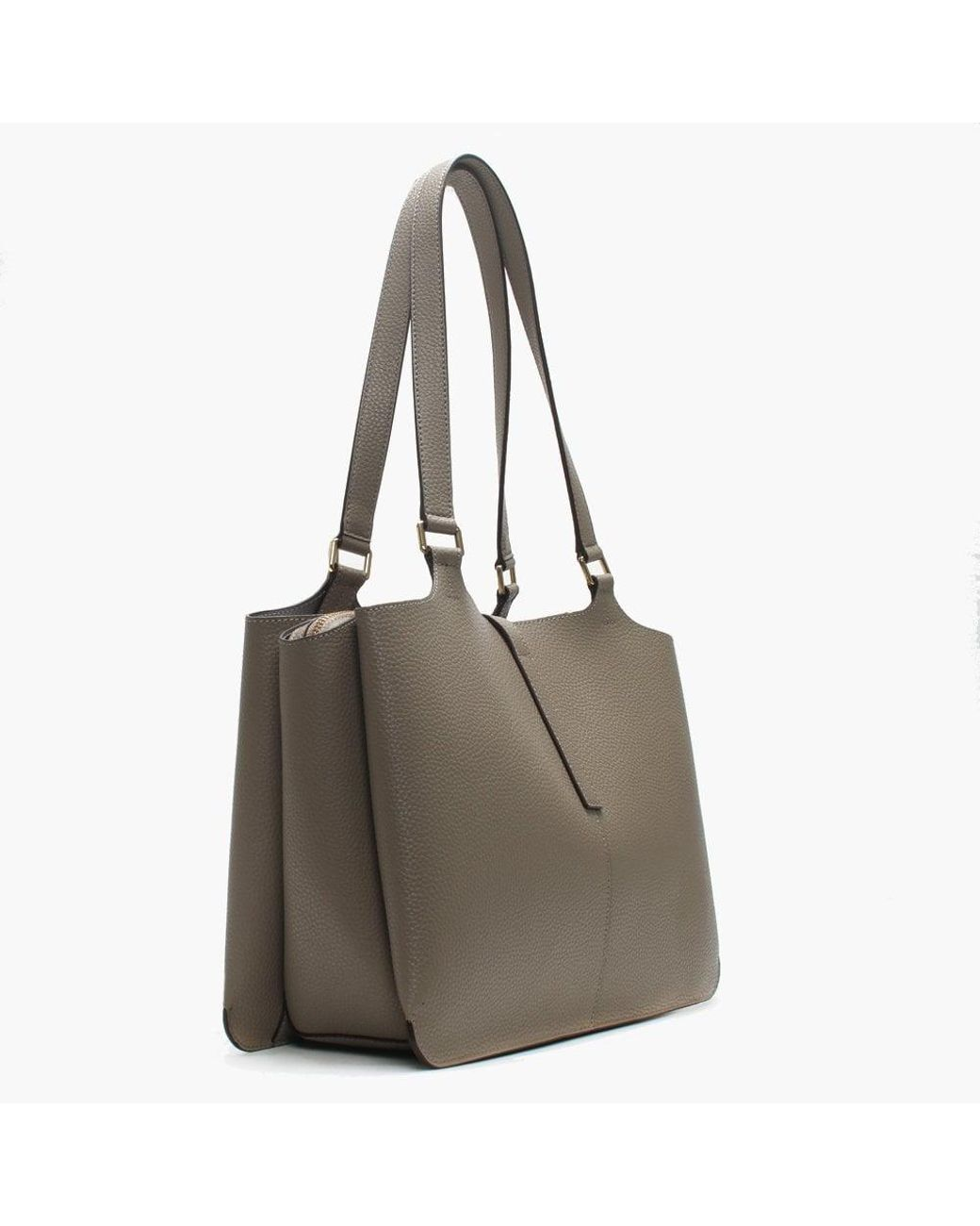 495be08b18f6d DKNY Paris Soft Clay Pebbled Leather Large Tote Bag - Lyst